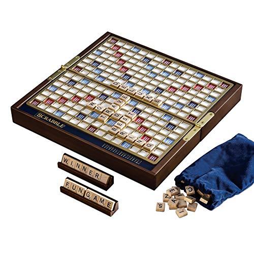 MISC Winning Scrabble Deluxe Travel Board Game