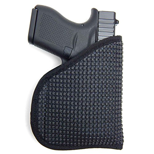 Active Pro Gear IWB/Pocket Concealed Carry Holster | Non-Slip Clipless Friction held Holster for Concealed Carry (KAHR: PM9, CM9)