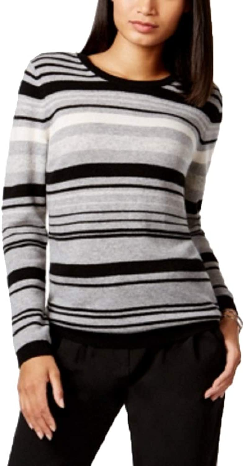 Charter Club Cashmere Striped Sweater