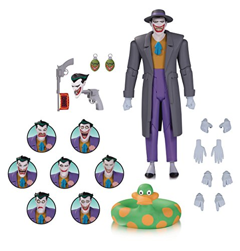 DC Collectibles Batman The Animated Series: The Joker Expressions Pack Action Figure