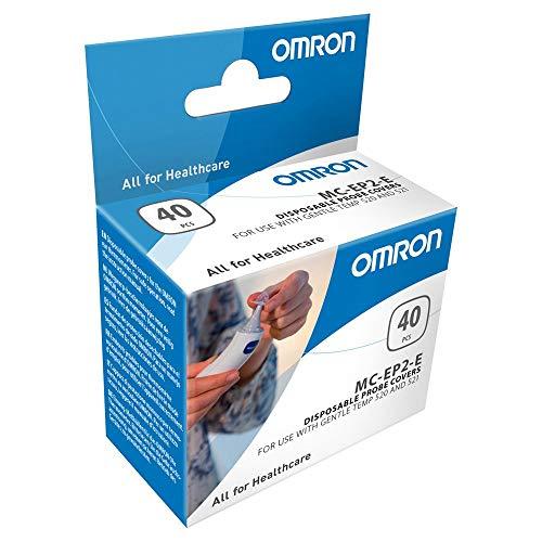 OMRON - Fundas protectoras para termómetros OMRON Gentle Temp 520 y 521, 40 piezas
