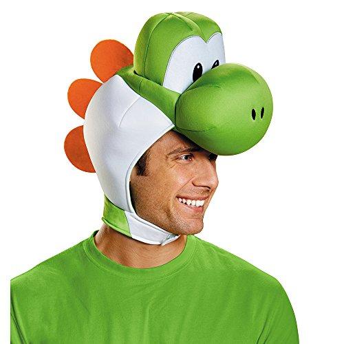 Disguise Herren Yoshi Kostüm Zubehör Kopfbedeckung - Erwachsene - Grün - Einheitsgröße