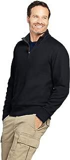 men's ribbed full zip sweater