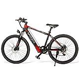 Bicicleta Eléctrica de 26 Pulgadas 250W 36V 8AH, Puede Soportar Una Carga de 180 Kg, Viajar 60-70 Km, Bicicletas Urbanas Masculinas Y Femeninas, Bicicletas Rígidas
