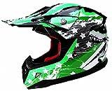 Motocross Motorradhelm Downhill Fullface Helm - Yema YM-211 Cross DH Enduro Quad Mountainbike BMX...