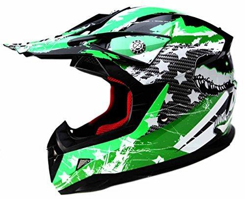 Casco Motocross Niño ECE Homologado - YEMA YM-211 Casco de