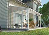 Palram Patio Cover Three Series Sidewall White