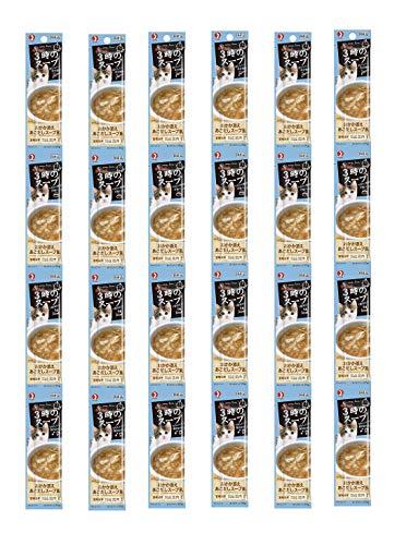 キャネット 3時のスープ おかか添えあごだしスープ 25g×4連X6個セット
