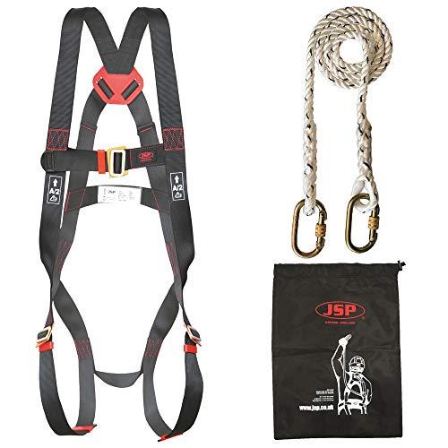 JSP Spartan-Kit di ritenuta, con 1 punto Imbracatura fissa e, 1,8 m, con cordino
