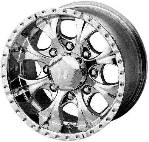 Helo Maxx Wheel with Gloss Black Machined (15x8'/5x4.5')