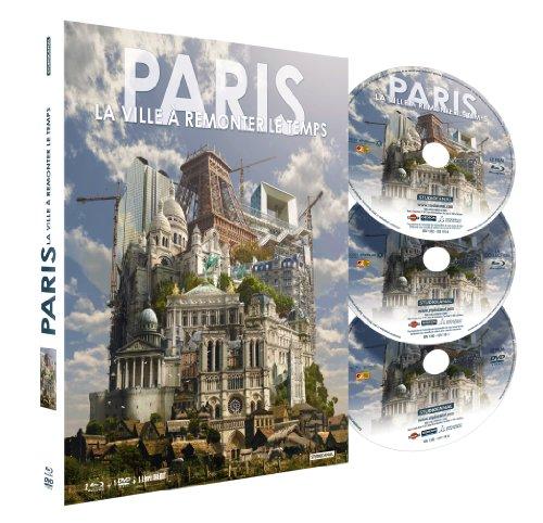 Paris, la ville à remonter le temps - Combo Blu-ray + DVD + livre[Blu-ray]