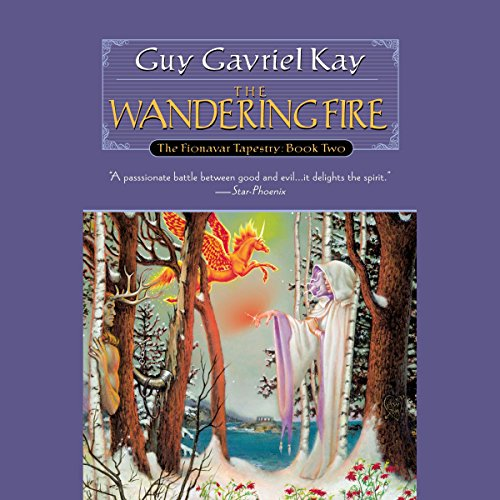 The Wandering Fire audiobook cover art