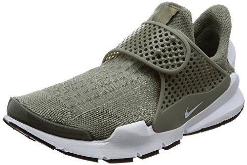 Nike Sock Dart Women's Running Shoes Dark Stucco/White-Black 848475-005 (8 B(M) US)