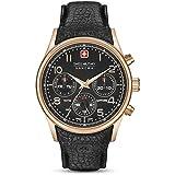 Swiss Military Hanowa Reloj Analógico para Hombre de Cuarzo con Correa en Cuero 06-4278.09.007