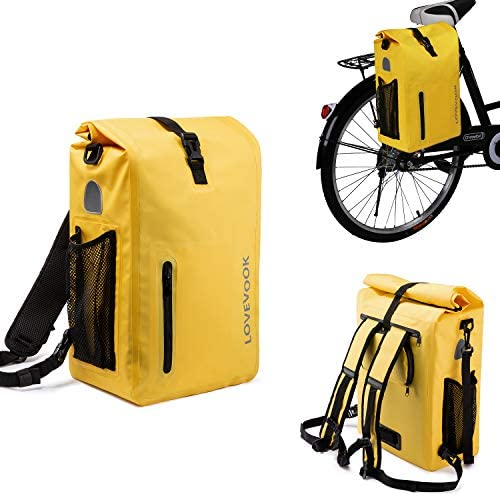 LOVEVOOK Bike Bag Pannier for Bicycle Waterproof Bicycle Panniers Rear Rack Trunks Bags for product image