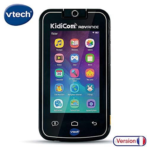 VTech KidiCom Advance Noir - Electrónica para niños (Negro, 6 año(s), Niño/niña, 12 año(s), Francés, Batería)