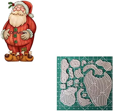 NCQ 2021 New Santa Claus Metal for Cutting Branded New product!! goods Cr DIY Dies Christmas