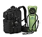 Military Tactical Backpack Hydration Backpack by RUPUMPACK, Army MOLLE Bag, Small 3-Day Rucksack for Outdoor Hiking Camping Trekking Hunting, 33L