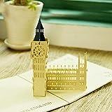 Tarjetas de regalo 3D emergentes UNIQUEplus London Big Ben Creativas, para recuerdos, aniversarios, bodas, cumpleaños, parejas, día de la madre, día del padre, agradecimientos
