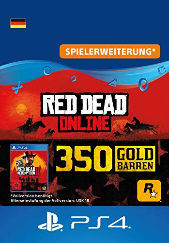 Rockstar Games Red Dead Redemption 2: 350 Goldbarren (DLC) - PS4 Download Code