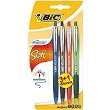 BiC Atlantis Premium Ball Pens (Pack of 3 , Plus 1 Free)