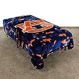 College Covers NCAA Rachel Throw Blanket, 63' x 86', Auburn Tigers