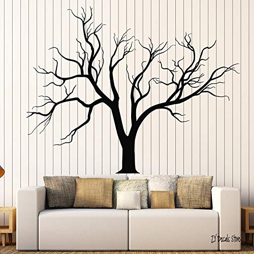 Tree Wall Decals Gothic Nature Tree Branches Home Design Sticker Living Room Bedroom Wall Sticker Art Mural Home Decoration L622