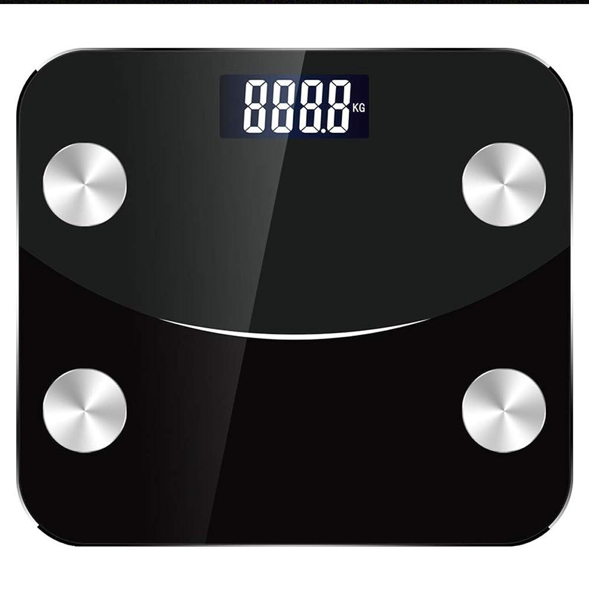 ポンペイ利用可能の前で男性と女性大人重量スケールUSB電子精度重量スケール大人ブルートゥース体脂肪スケール