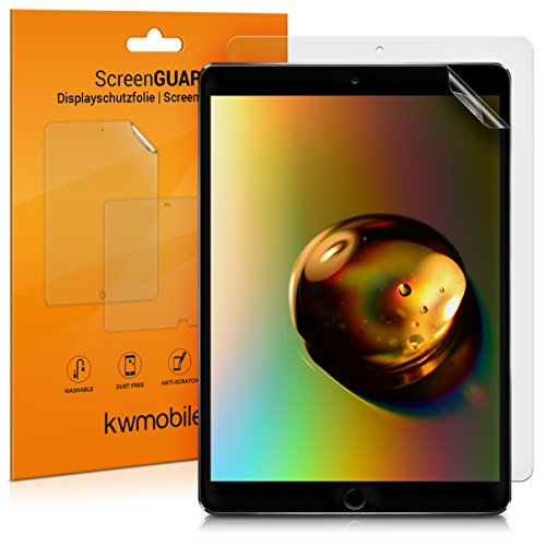 kwmobile 2X Schutzfolie kompatibel mit Apple iPad Pro 10,5