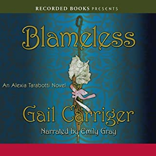 Blameless     An Alexia Tarabotti Novel              By:                                                                                                                                 Gail Carriger                               Narrated by:                                                                                                                                 Emily Gray                      Length: 11 hrs and 59 mins     2,345 ratings     Overall 4.5