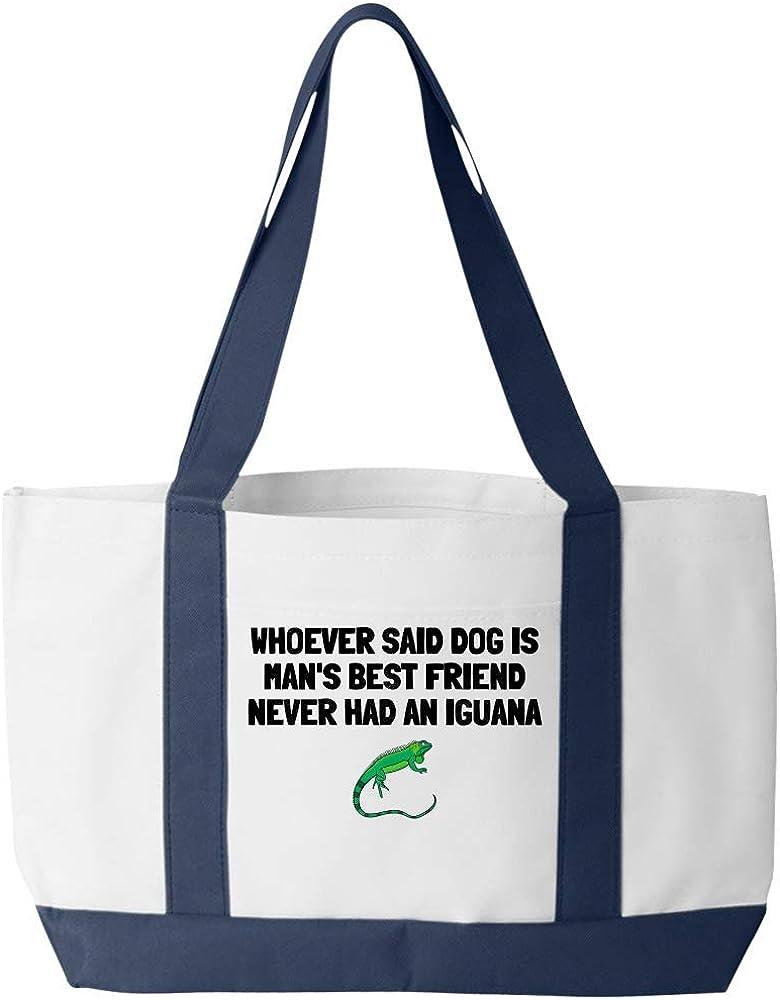 Iguana Lover Gift Iguana Tote Bag Present For Iguana Owner Mans Best Friend