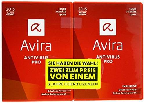 Avira AntiVirus Pro 2015 (1+1 User / 3 Geräte / 1 Jahr) [import allemand]