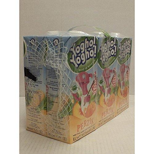 Yogho Yogho Joghurt-Drink, Pfirsich, 6 x 1l Karton Pack (perzik)