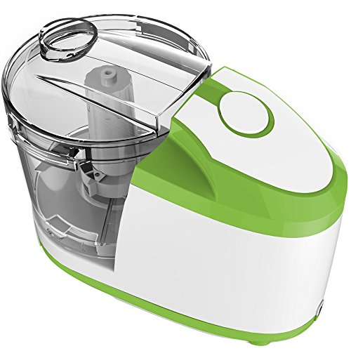Master TT150/GN Picadora con cuchillas de acero, Pl&ampaacutestico PVC, Verde