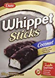 Whippet Sticks, Chocolate covered Coconut Sticks, 250g/8.8oz, 2ct, Imported from Canada}