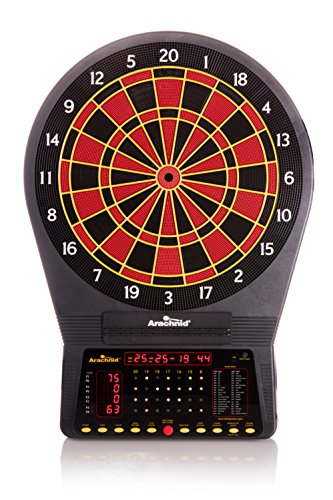 Arachnid Cricket Pro 750 Electronic Dartboard Features 36 Games with 175 Variations for up to 8 Players,Black