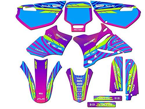 2002-2014 YZ 85, Tigre Pink Custom Complete kit, Senge Graphics, Compatible with Yamaha
