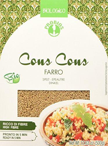 Probios Couscous Integrale di Farro - 500 g