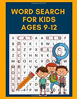 Word Search For Kids Ages 9-12: Word Search Books For Kids 6-8, Word Search Books For Kids