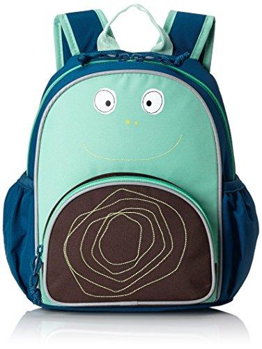 Lässig Mini Backpack Update Kinderrucksack Kindergartentasche Kindergarten Kleinkind Kind Vorschule mit verstellbarem Brustgurt, Namensschild, Reißverschlussfach vorne, Wildlife Elephant