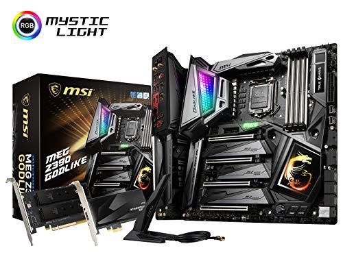 MSI MEG Z390 GODLIKE LGA1151 (Intel 8th and 9th Gen) M.2 USB 3.1 Gen 2 DDR4 Wi-Fi SLI CFX Extended...