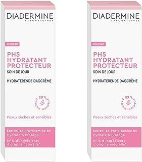 Diadermine - PH5 Soin de Jour Visage Hydratant Protecteur - Enrichi en Pro-Vitamine B5 - Nourrit intensément - 89% d'ingré...