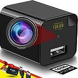 Spy Camera - Hidden Camera - USB Charger - Hidden Camera Charger - USB Charger Camera - Surveillance Camera - Hidden Spy Camera - Hidden Nanny Cam - Full HD 1080p (Advanced)
