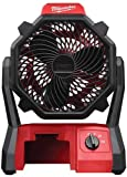 . Milwaukee M18 Jobsite Fan - Bare Tool Only, No Charger, No Battery