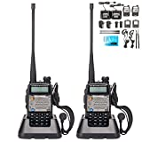 Best Baofeng Long Range Walkie Talkies - BaoFeng UV-5R Upgrade Version UV-5XP Extended Battery VHF Review