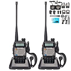 BaoFeng UV-5R Upgrade Version UV-5XP Extended Battery VHF UHF...