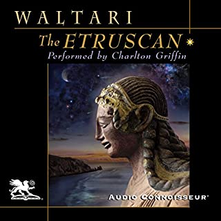 The Etruscan audiobook cover art