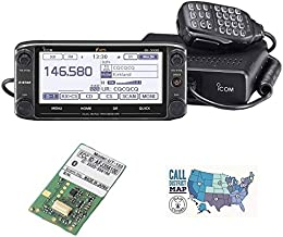Bundle - 3 Items - Includes Icom ID-5100A Deluxe VHF/UHF D-Star Mobile Transceiver, UT-133 Internal Bluetooth Module and H...
