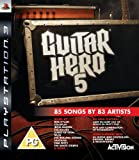 Guitar Hero 5 - Game Only (PS3) [Importación inglesa]