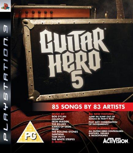 Guitar Hero 5 - Game Only (PS3) [Importación inglesa]